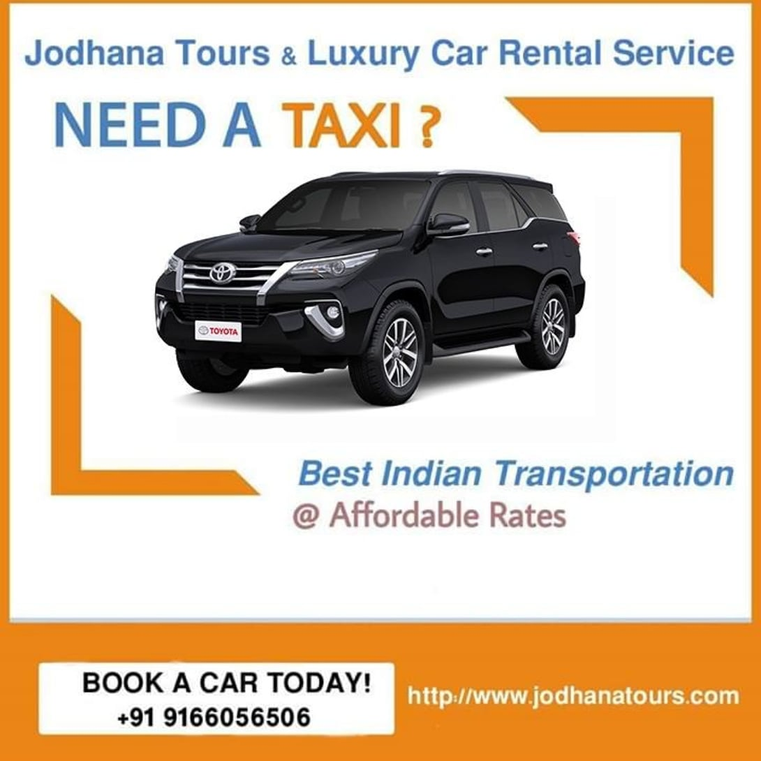 Taxi services in Jodhpur - Cab Hire