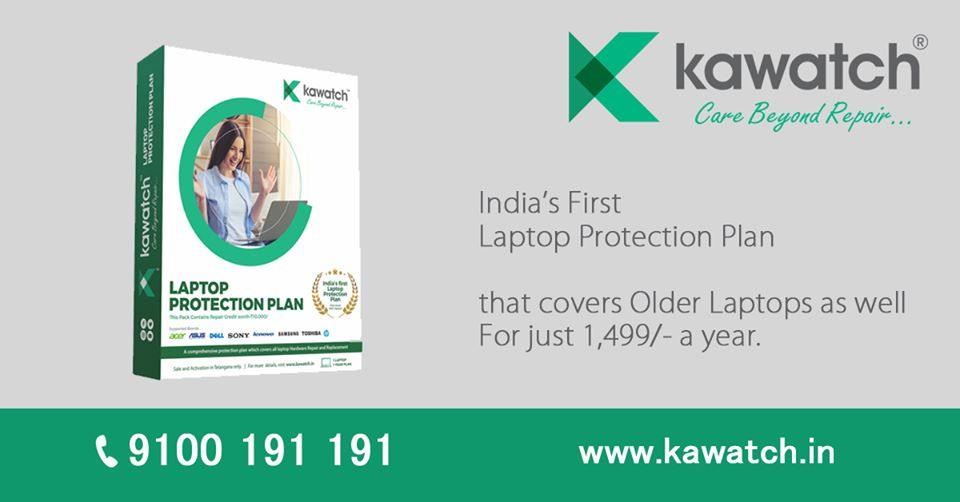 Kawatch Laptop Extended Warranty & Protection Plans from Liquid & Physical Damages