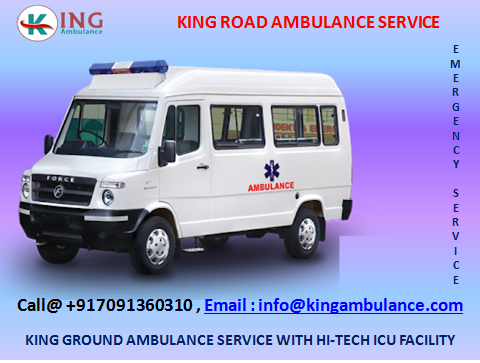 Shift Patient in Local Hospital by king Road Ambulance Service in Patna