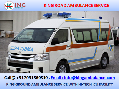 Book Most Economical Ambulance Service in Samastipur with Medical Team