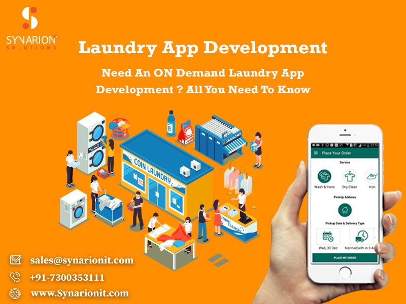Looking For Laundry App Development