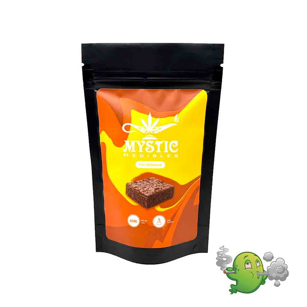 MYSTIC MEDIBLES THC BROWNIE