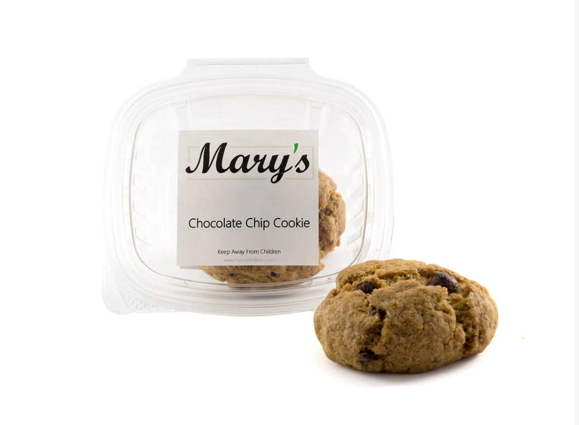 Mary's Medibles – Chocolate Chip Cookie Triple Strength 140mg (Sativa)
