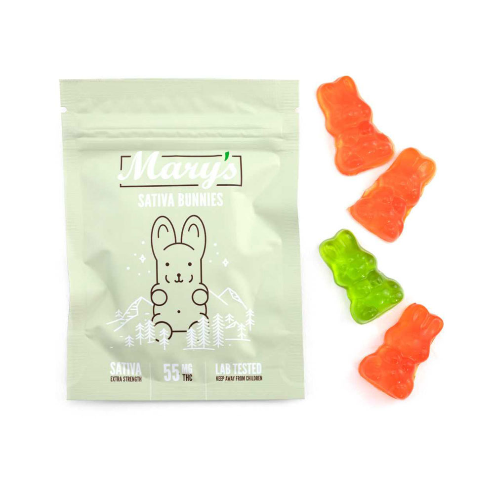 Mary's Medibles – Sativa Bunnies – 55mg
