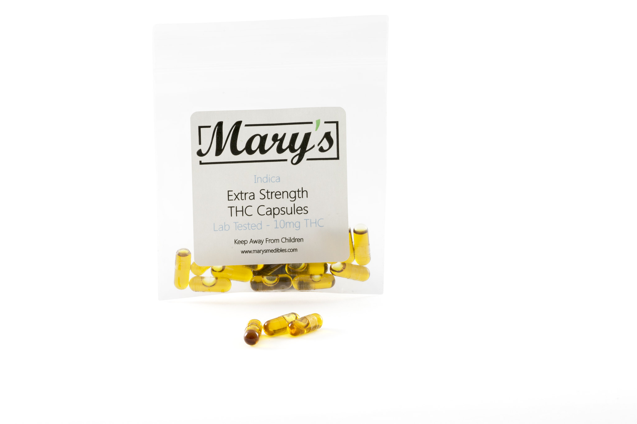 Mary's Medibles – THC Capsules 10mg (Indica)