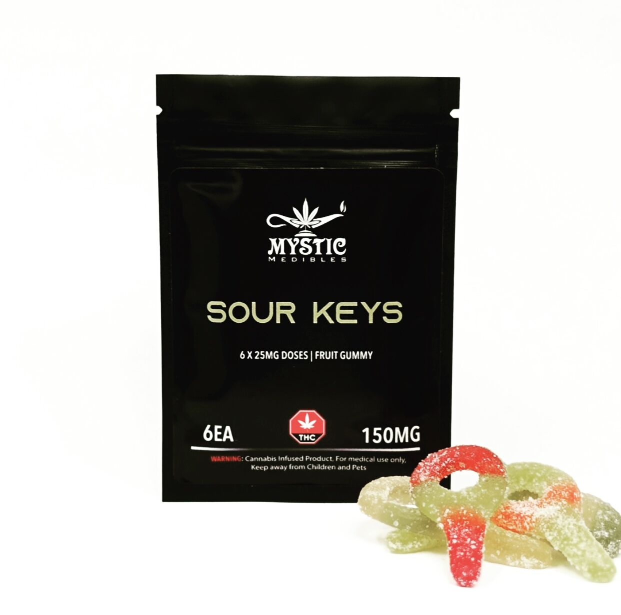 Sour Keys by Mystic Medibles (150mg THC)