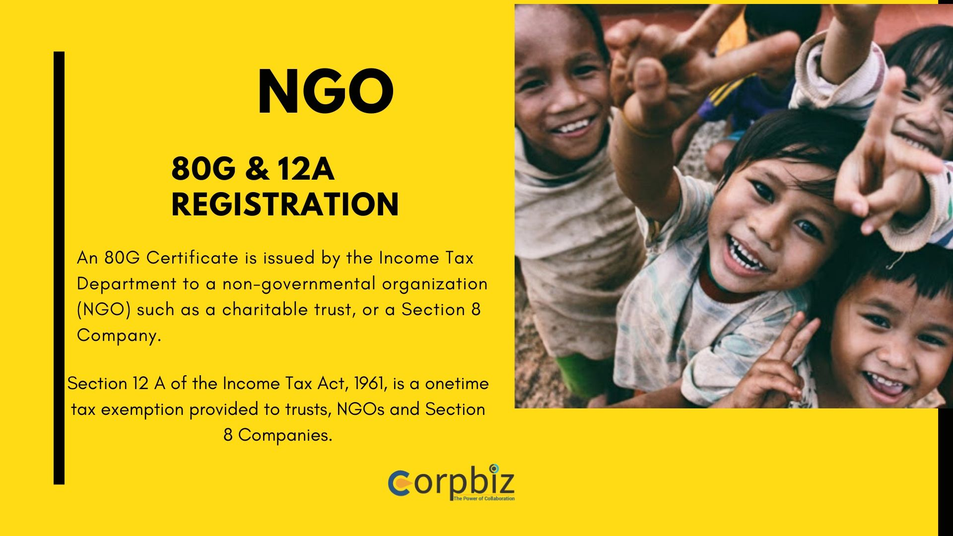 NGO license and Registration for tax exemption