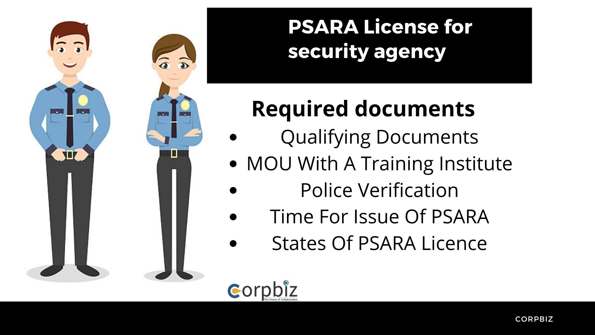 PSARA License and registration
