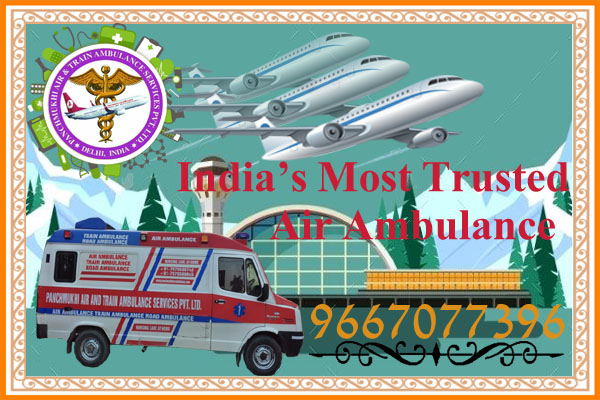24 Hours Emergency Air Ambulance Service in Kolkata – Panchmukhi