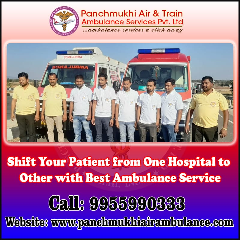 Emergency Panchmukhi North East Ambulance Service in Guwahati