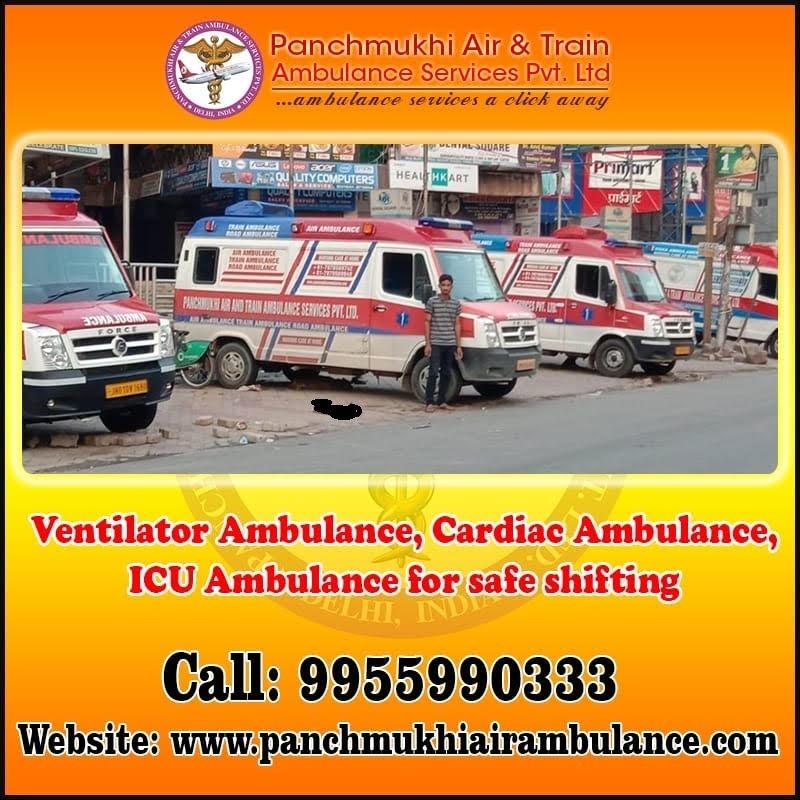 Get an Emergency Panchmukhi North East Ambulance Service in Amguri