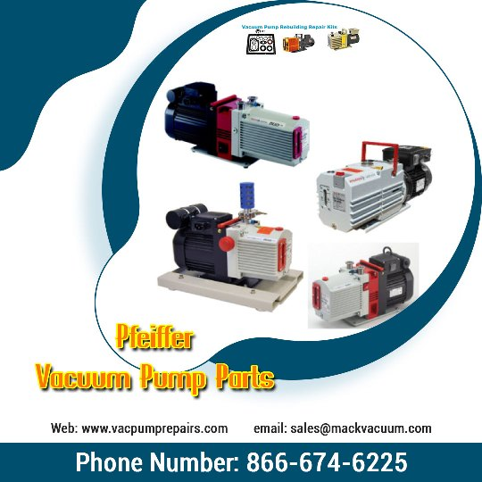 High Precision Pfeiffer Vacuum Pump Parts for Sale!