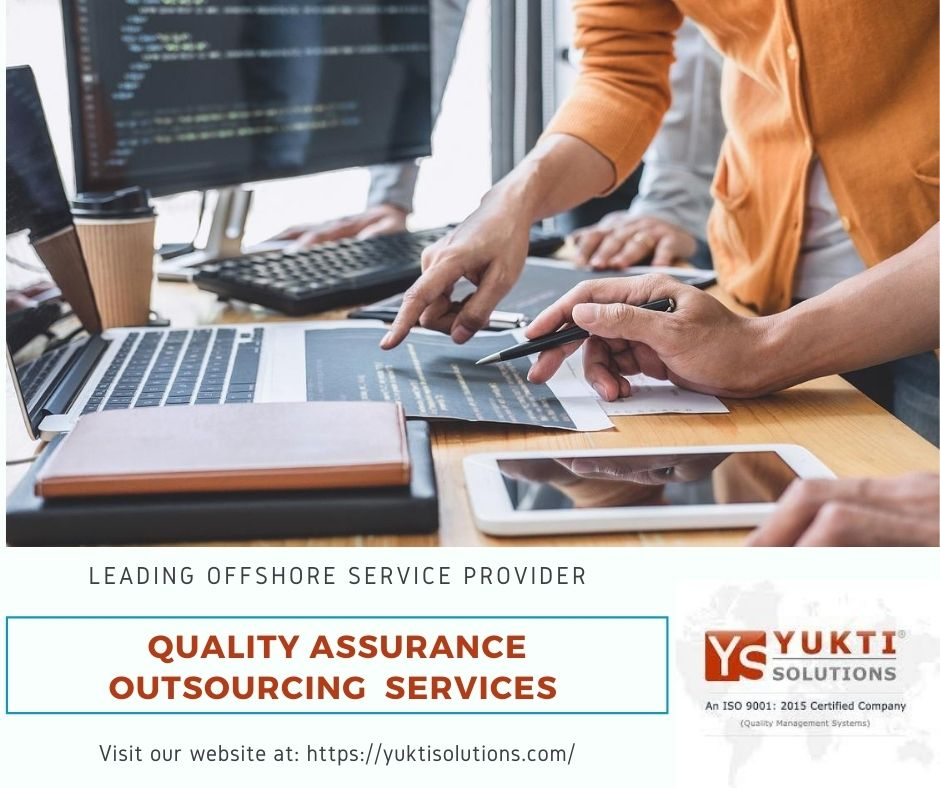 Best External quality assurance services with yukti Solutions