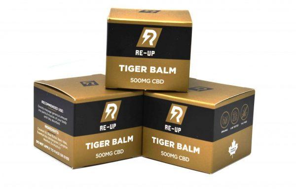 Tincture – Re-Up – Tiger Balm 500MG CBD