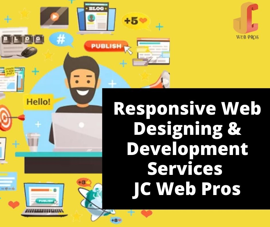 Responsive Web Designing & Development Services | JC Web Pros