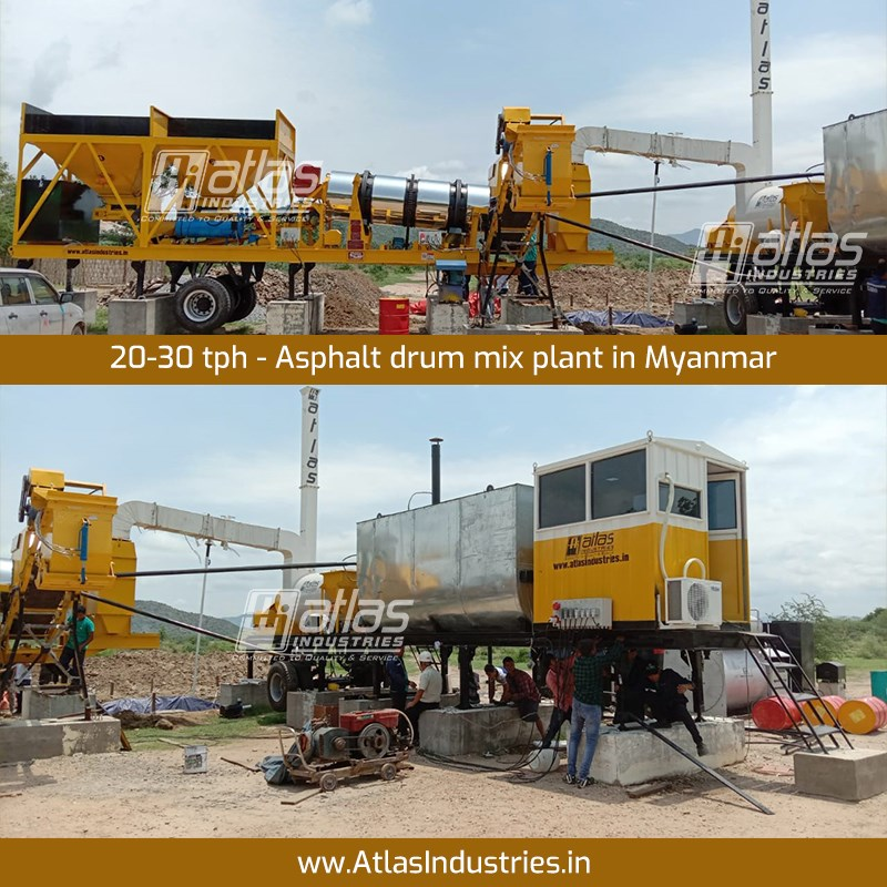 Best Civil and Road Construction Machinery Manufacturer - Atlas Industries