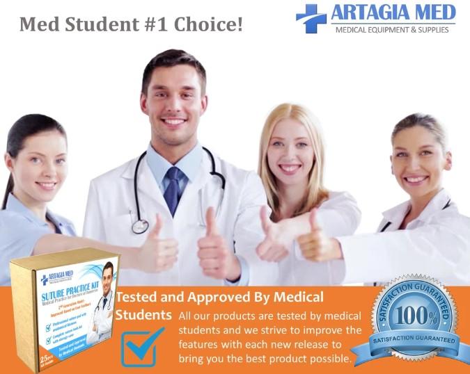 Advanced Suture Kit for Medical Students
