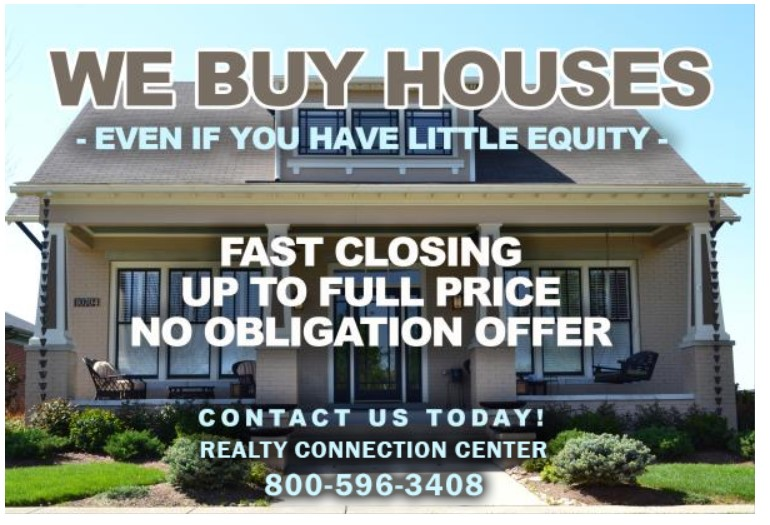 We want to buy your house, today!