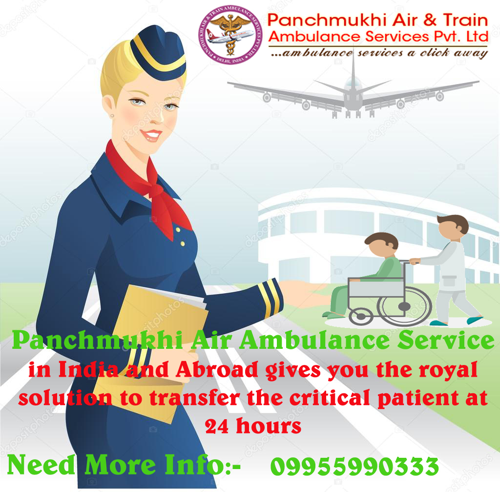 Book World-Class Charter Air Ambulance Service in Lucknow