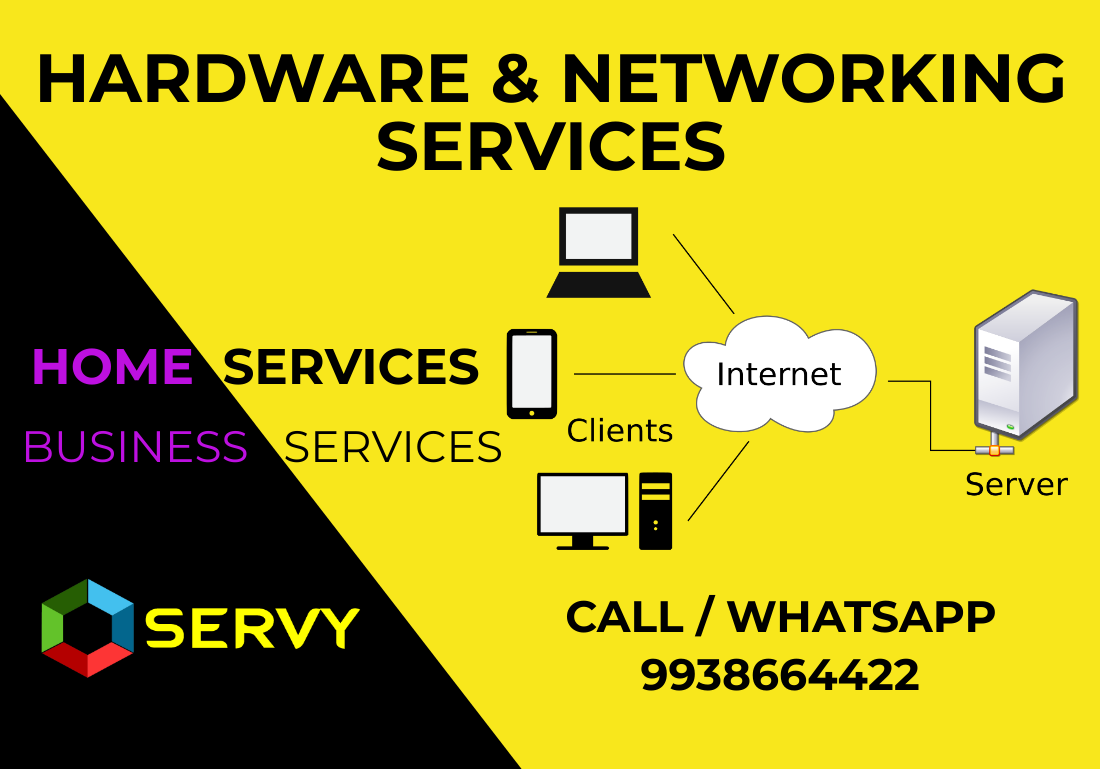 Computer Hardware Networking Support services In Bhubaneswar