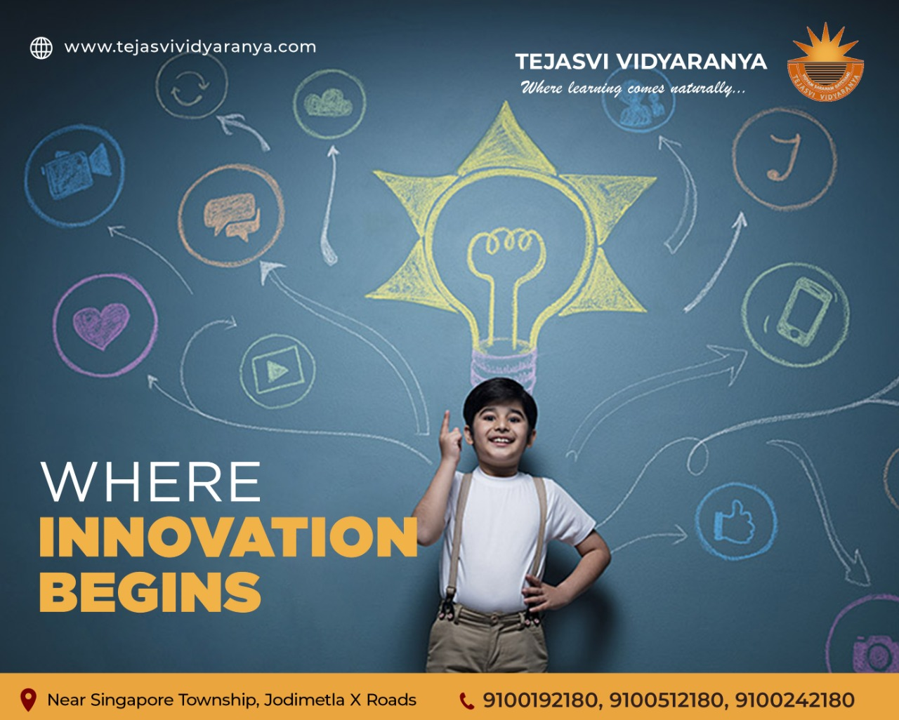 Best CBSE Schools In Jodimetla | Learning starts at Tejasvi Vidyaranya