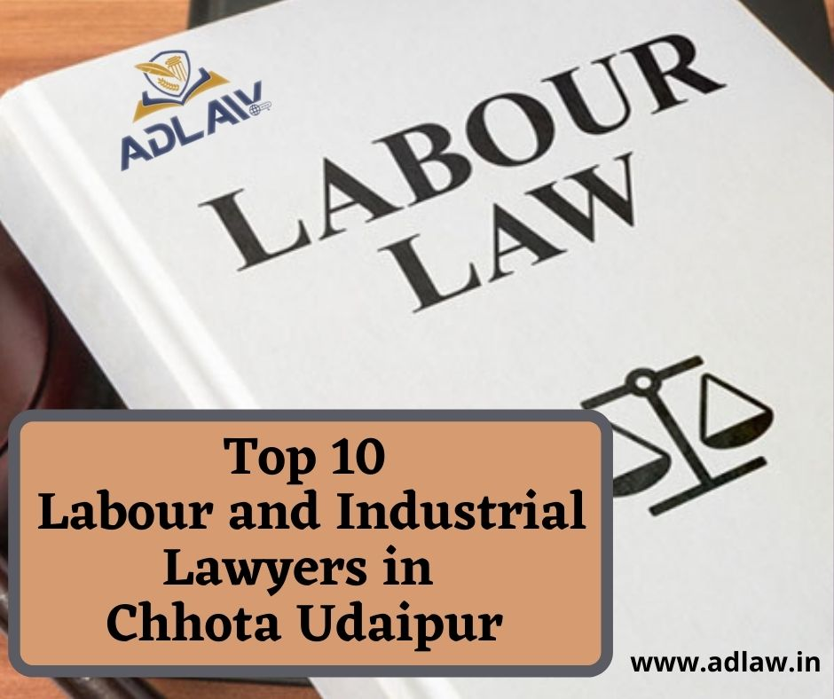 Top 10 Labour And Industrial Lawyers in Chhota Udaipur