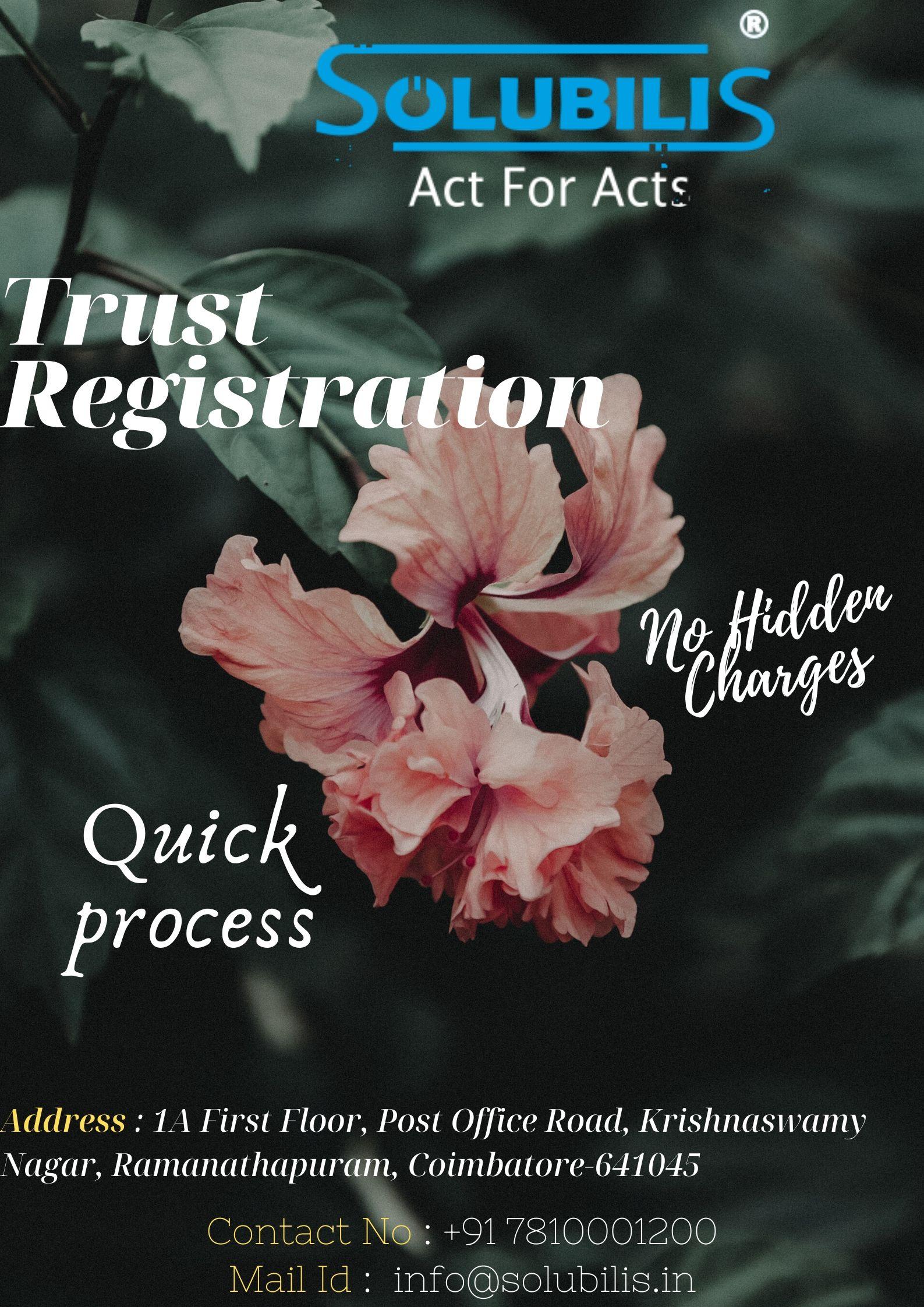 Trust Registration in Coimbatore | Get registration in 10 days