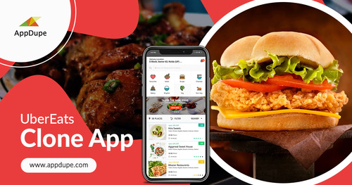 Contact us to develop your UberEats clone app