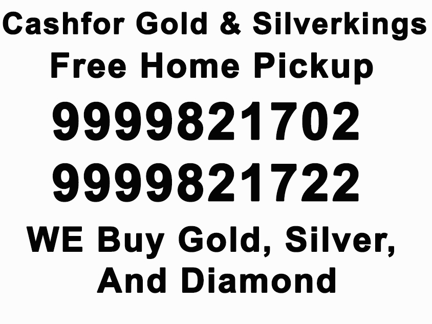 Cash for silver in Delhi NCR