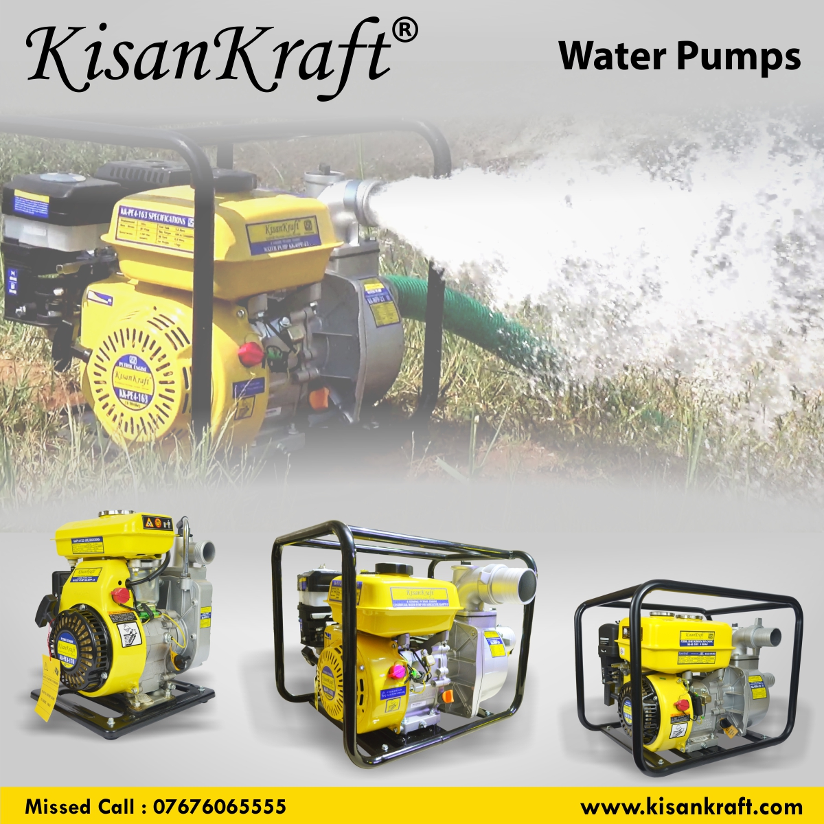 Agriculture Water Pumps – KisanKraft Limited