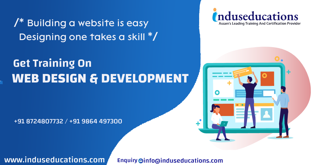 Web Design & Development Training In Guwahati