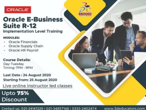 ORACLE E-BUSINESS SUITE R-12