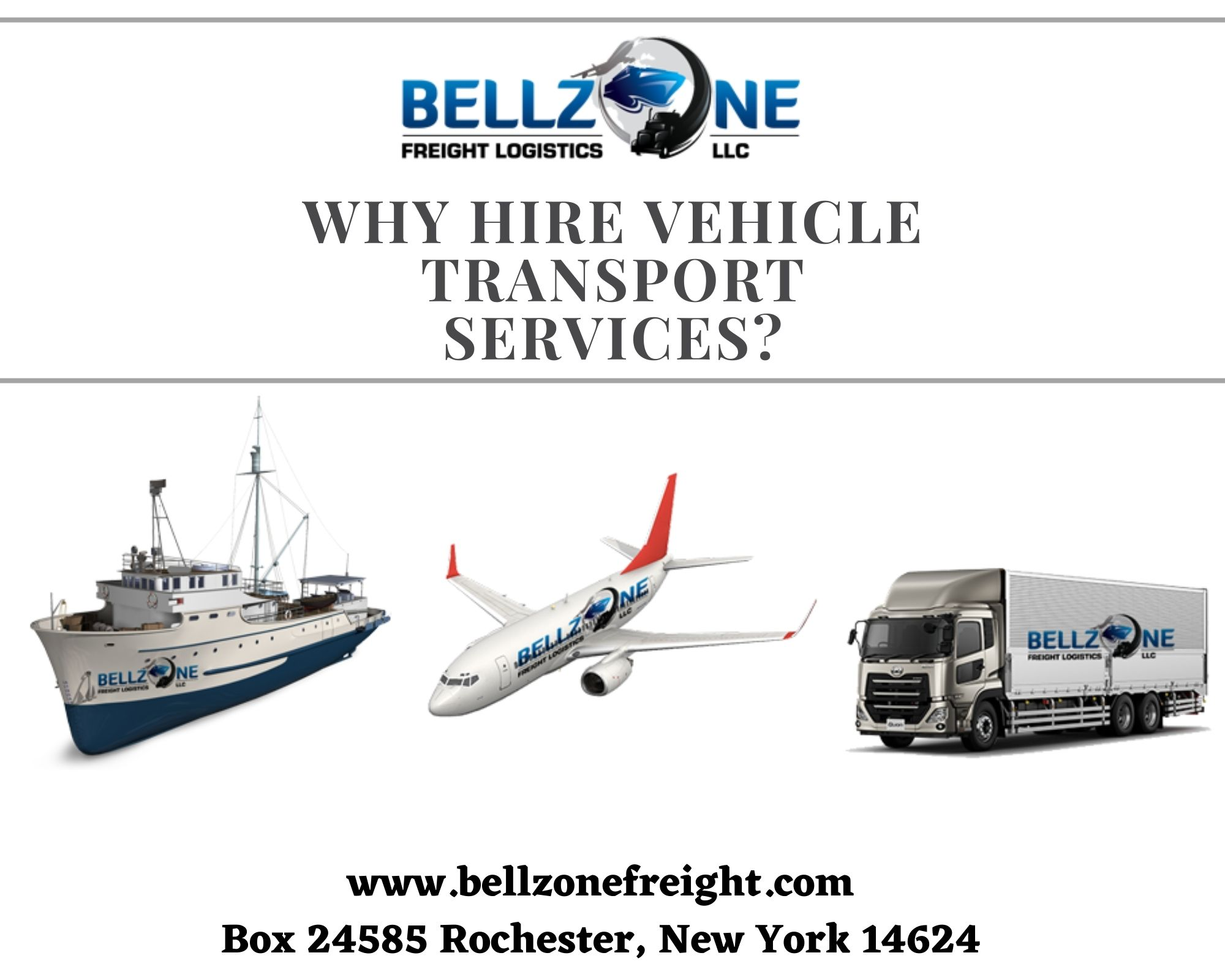 Hire Vehicle transport services Rochester | bellzonefreight
