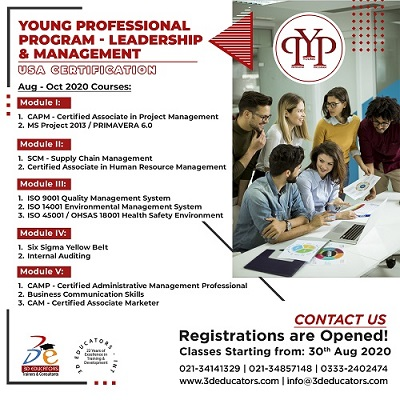 YOUNG PROFESSIONAL PROGRAM - LEADERSHIP & MANAGEMENT