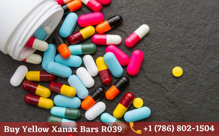 Buy Yellow Xanax Bars R039 Without Prescription