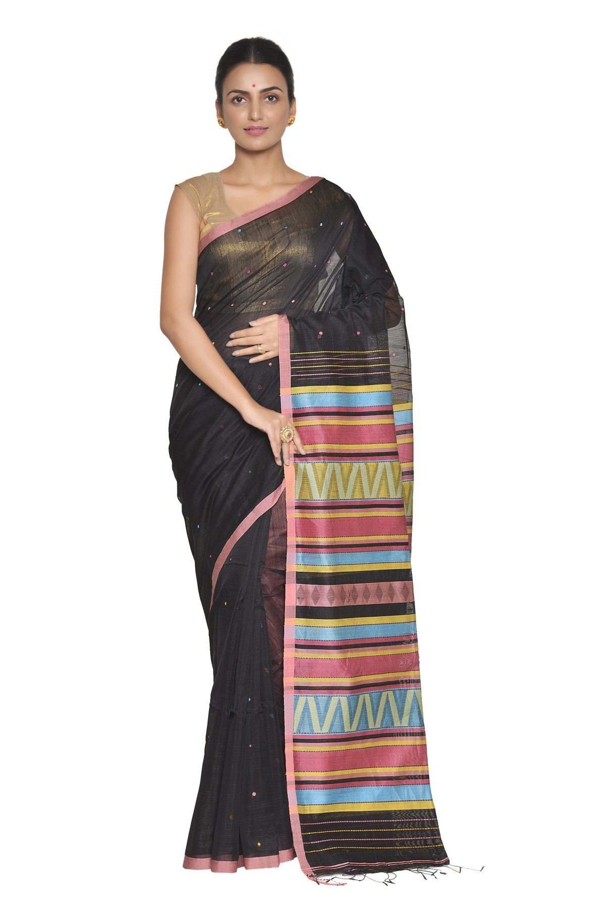Handwoven Indian sarees online shopping - Dinghy Exclusives