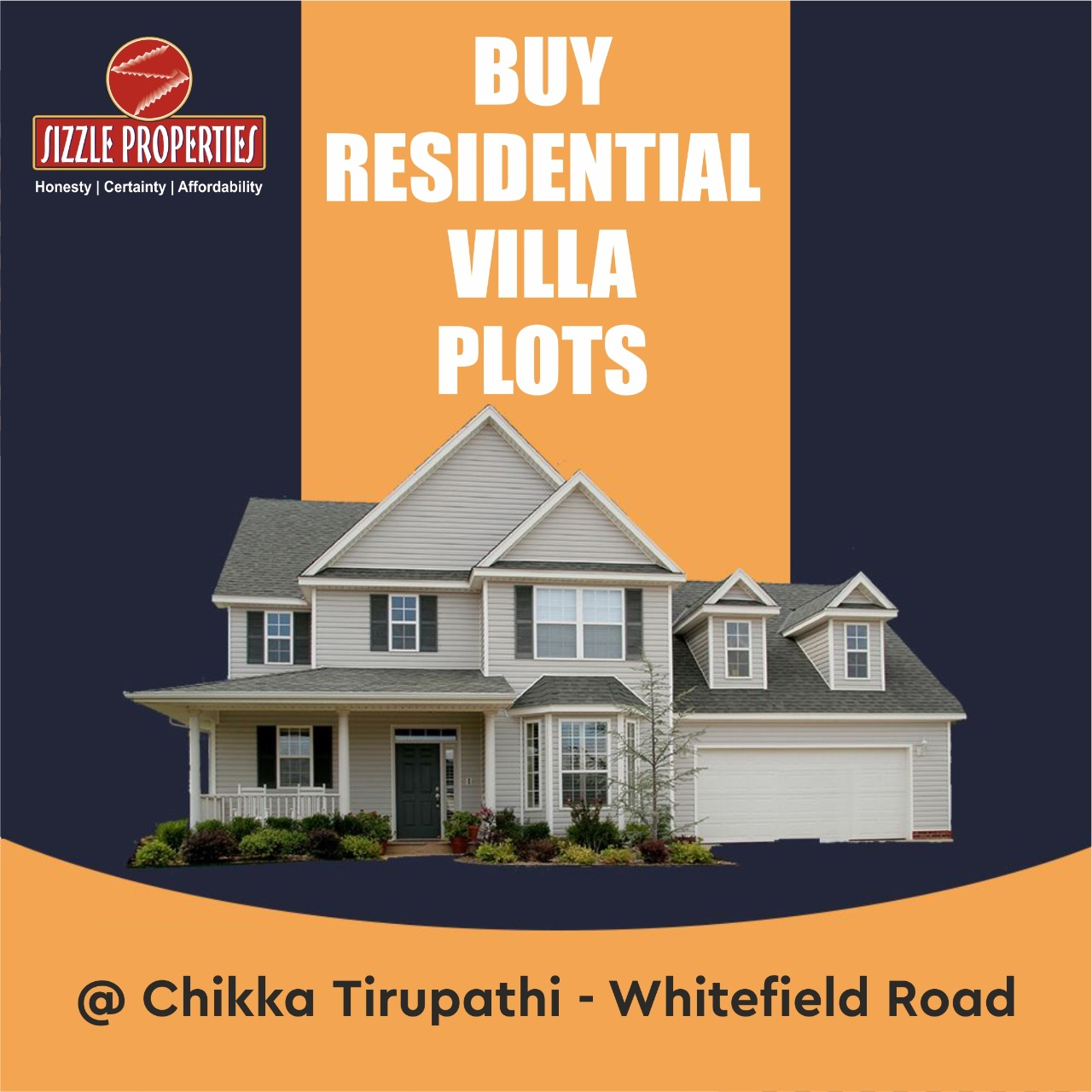 Residential villa plots for sale in Bangalore