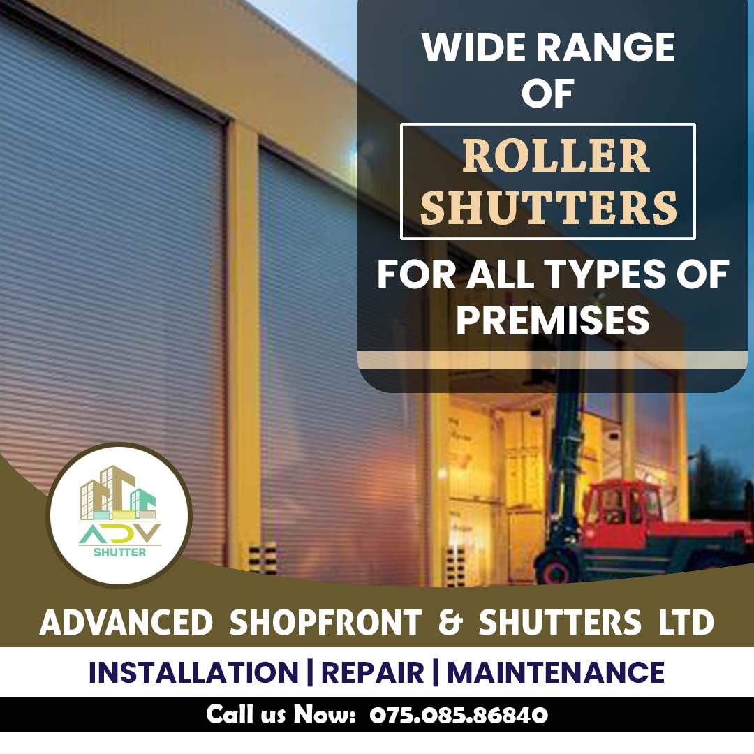 Roller Shutter Repair in London