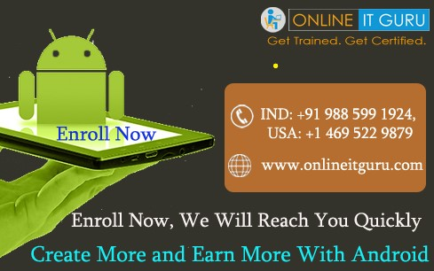 Android training classes |Android online training