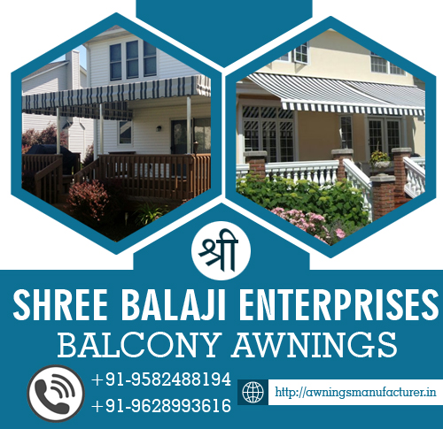 Balcony Awnings Manufacturer & Suppliers