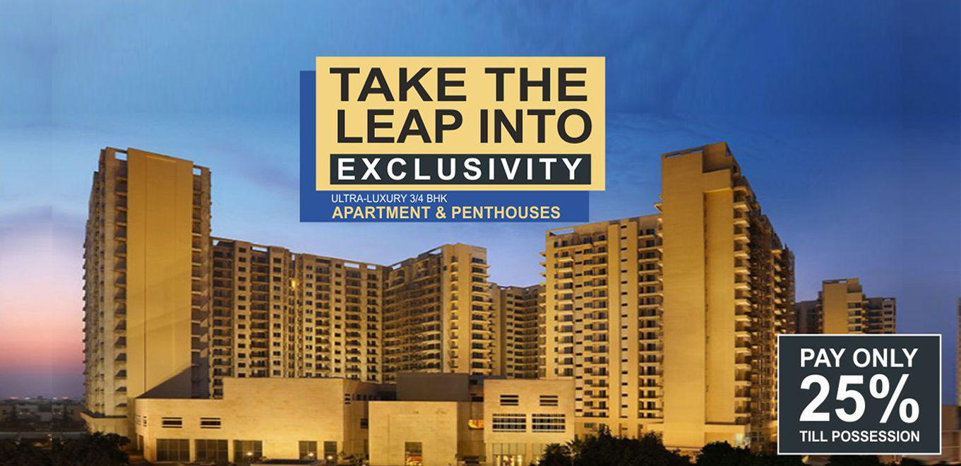 Ambience Creacions - 3 & 4 BHK Luxury Apartments Gurgaon
