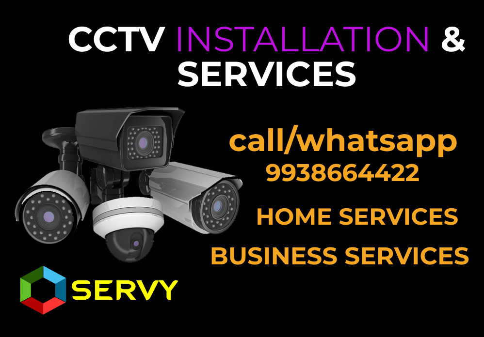CCTV Security camera services in reasonable pricing in Bhubaneswar