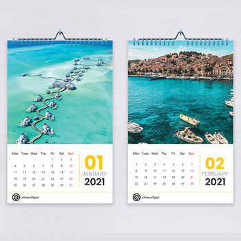 Buy Promotional Calendars for Promoting Brand