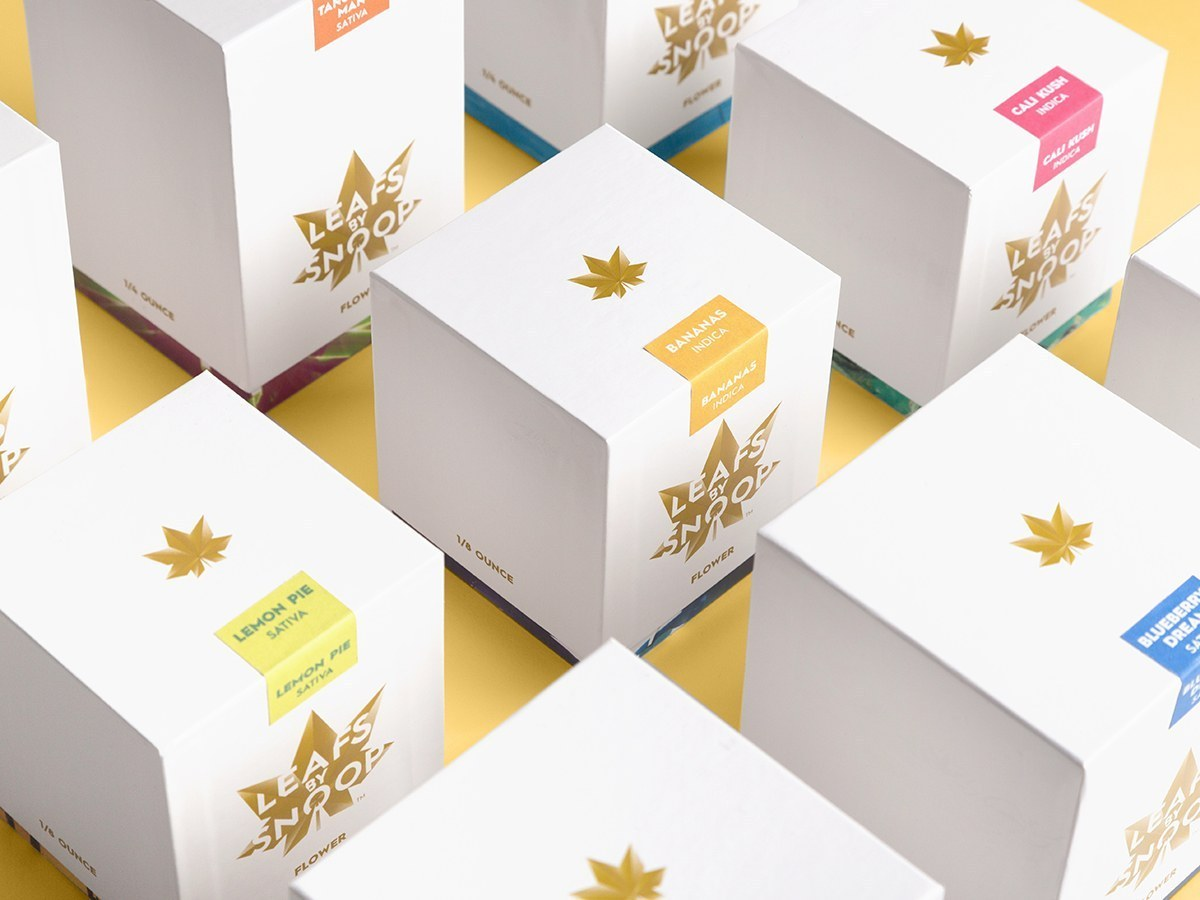Cannabis Flower Packaging Boxes