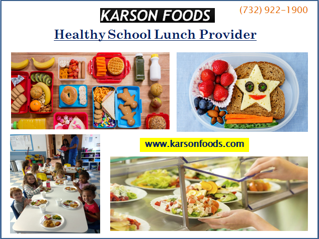 Find Healthy Nutritious School Lunch Meal Service Provider