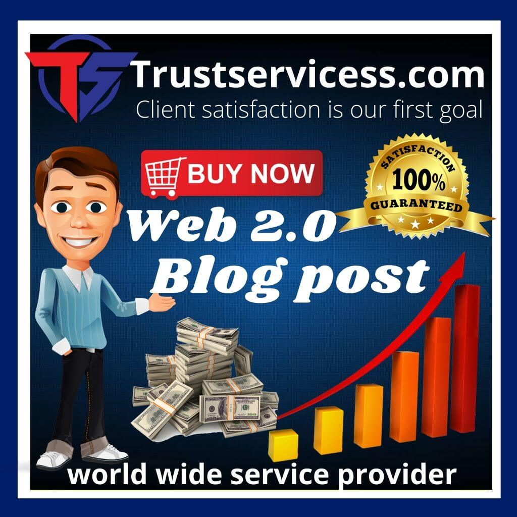 Buy Web 2.0 Blog Post backlinks