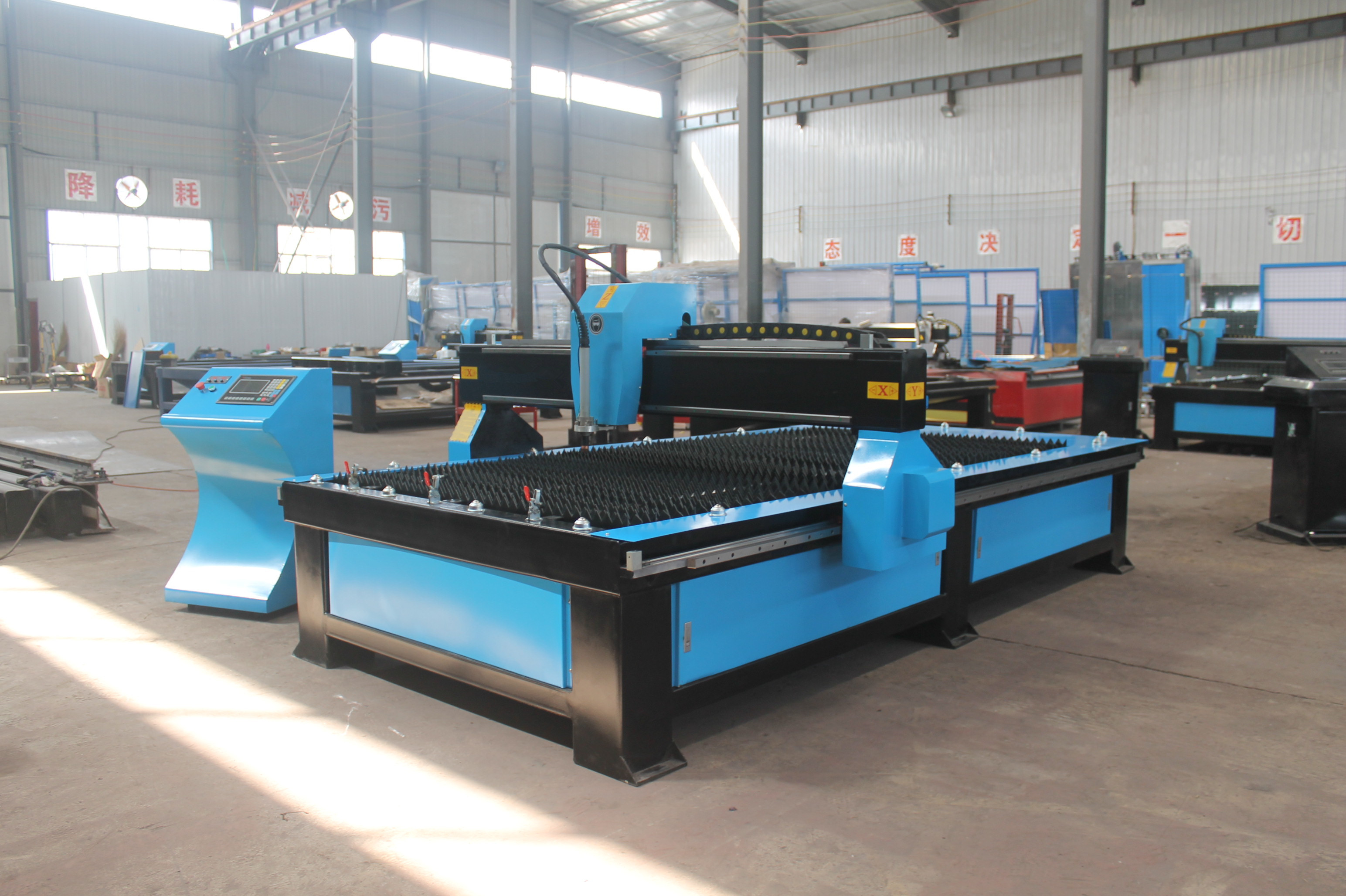 4x8ft CNC Plasma Cutting Table with Affordable Price for Sale