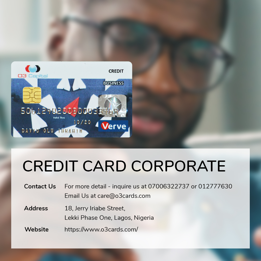 credit card for company