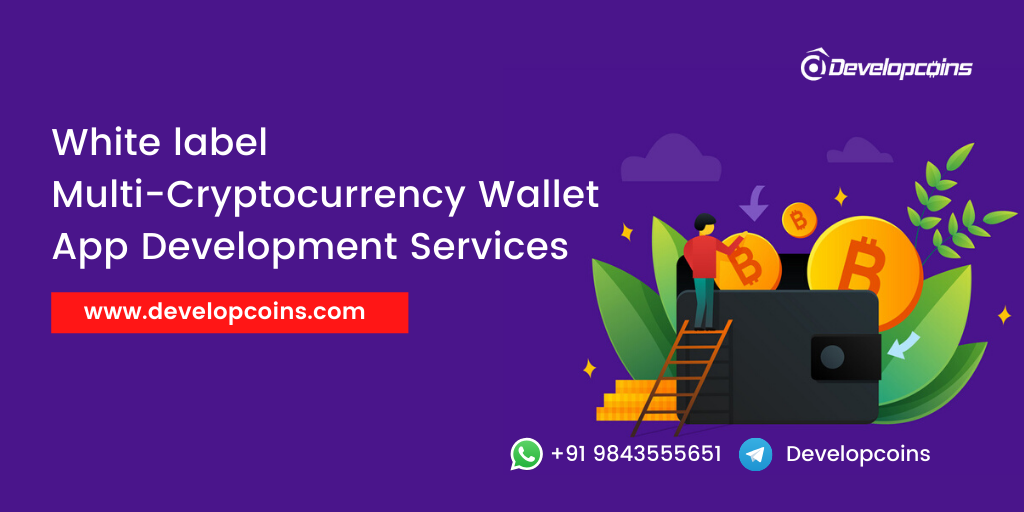 White label Multi-Cryptocurrency Wallet App Development Service