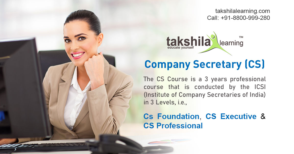 Choose a career as company secretary